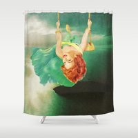 Hanging On Shower Curtain