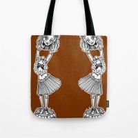 Headless Hula Girl by Ronkytonk Tote Bag