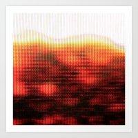 Haze_v_1.14 Art Print