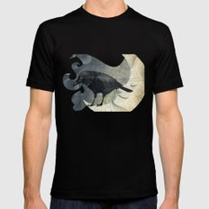 From a raven child Mens Fitted Tee Black SMALL