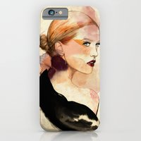 iPhone & iPod Case featuring Lady by Sarah Bochaton
