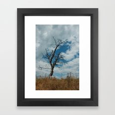 loneliness is temporary Framed Art Print
