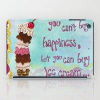 Ice Cream Happiness iPad Case