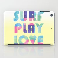 Surf Play Love iPad Case