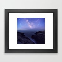 Southern Skies Framed Art Print