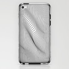Minimal Curves iPhone & iPod Skin