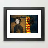 Coiffure For A Young Lad… Framed Art Print