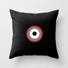 Blood Shot Eye Throw Pillow