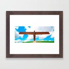 Angel of the North Framed Art Print