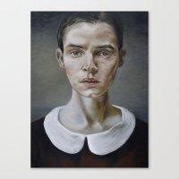 Portrait (shiver) Canvas Print