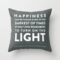 Light - Quotable Series Throw Pillow