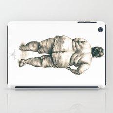 mujer en la ducha iPad Case