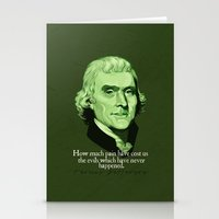 How Much Pain Have Cost … Stationery Cards