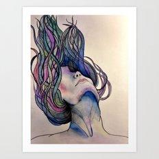 Insanity Art Print
