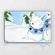 Snowcat Laptop & iPad Skin