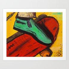 The Ride! Art Print