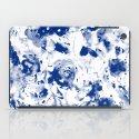 blue garden iPad Case