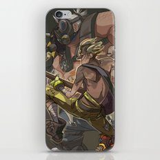 Death Growls and Punching The Guitar iPhone & iPod Skin
