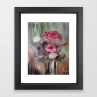 Radiance Third In Series Framed Art Print