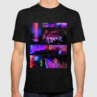 Creepy Mens Fitted Tee Tri-Black SMALL