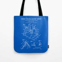 Playground Patent - Blueprint Tote Bag