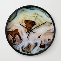 THE BEAUTY OF MINERALS Wall Clock