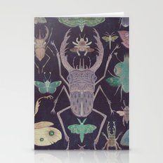 Entomologist's Wish (The Neon Version) Stationery Cards