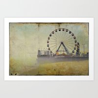 Seaside Heights New Jers… Art Print