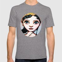 Princess II Mens Fitted Tee Tri-Grey SMALL