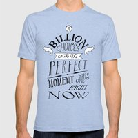 Perfect Moment Mens Fitted Tee Tri-Blue SMALL