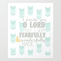 Fearfully & Wonderfully … Art Print