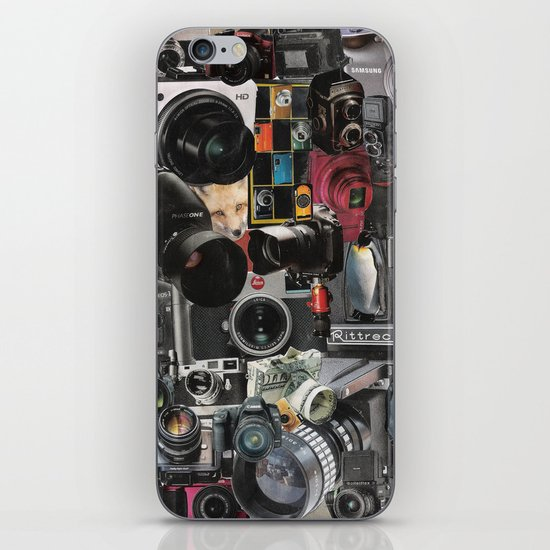 COLLAGE LOVE: How Do You See the World? iPhone & iPod Skin