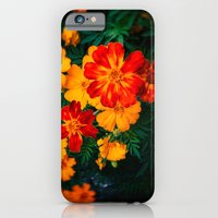 Colorful flowers iPhone 6 Slim Case