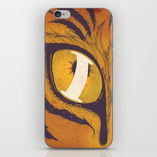 """I"" of the Tiger iPhone & iPod Skin"