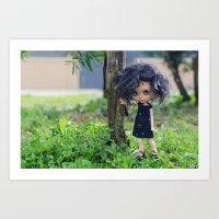 Blythe doll Art Print