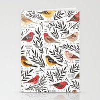 Finches of North American Field Guide Stationery Cards