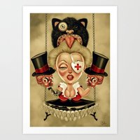 Hanging From Above Art Print