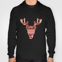 Christmas Reindeer. Hoody