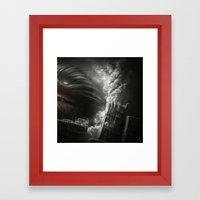 BallWars II. Framed Art Print