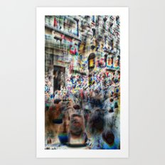 And the longer you linger, the linger you long. 12 Art Print