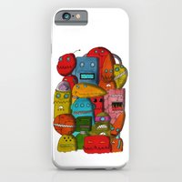 iPhone & iPod Case featuring Robots Of Cornwall by Tyson Bodnarchuk