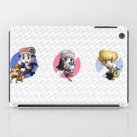 Pokemon Trainer BARRY iPad Case