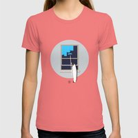 Happiness Womens Fitted Tee Pomegranate SMALL