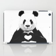 iPad Case featuring All You Need Is Love by Balazs Solti