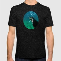 Dive Mens Fitted Tee Tri-Black SMALL