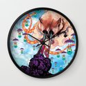 Attack of the Super Furry Animals! Wall Clock
