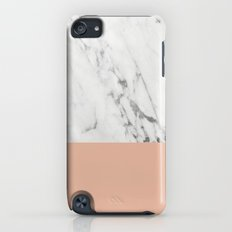 Marble and Coral iPod touch Slim Case