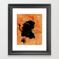 Our Fate Lives Within Us Framed Art Print