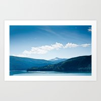Swift Lake WA Art Print
