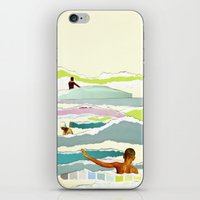 Sun and Surf iPhone & iPod Skin